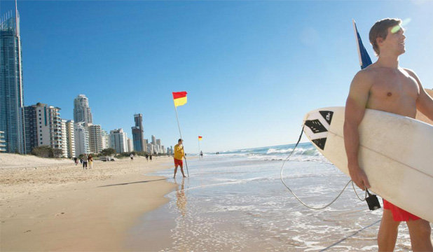 SURF'S UP: Billabong began on the Gold Coast, but has fallen on hard times after expanding too far.