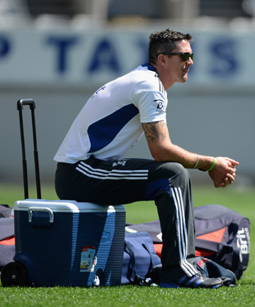 BOOST: Kevin Pietersen will return for the second T20 game against the Black Caps.
