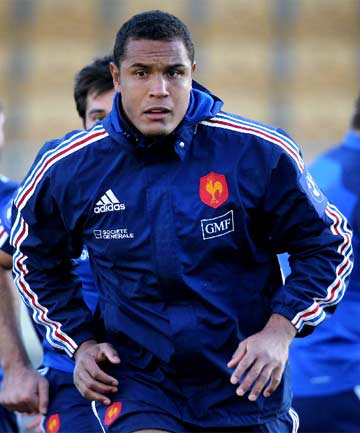 HERE TO PLAY: French captain Thierry Dusautoir must instil confidence in his young team.