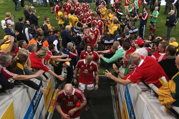 Lions win first test