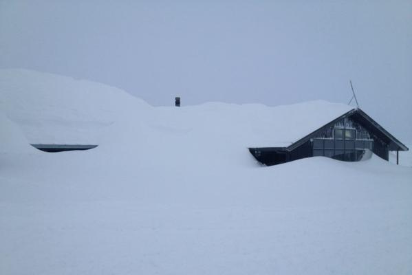 Snow dump at Mt Hutt, June 23, 2013