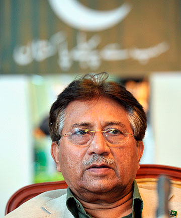 CHARGED: Pakistan's former President Pervez Musharraf.
