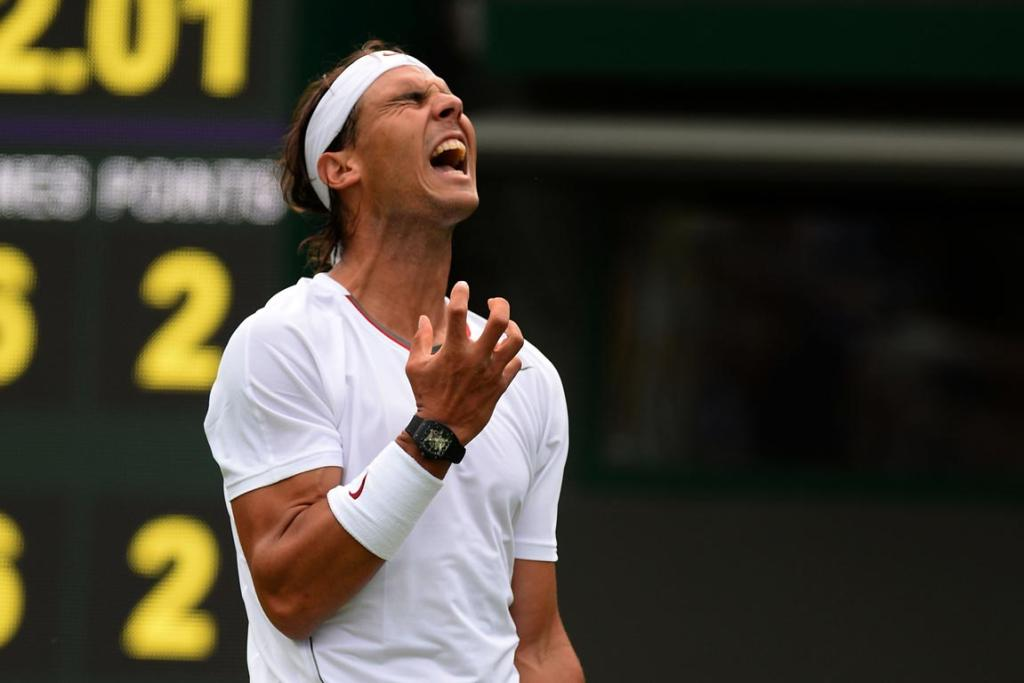 In one of the biggest shocks of all time Rafael Nadal departed a Grand Slam in the first round for the first time.