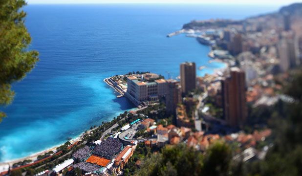 STATE OF ROYALTY: The rock city of Monte Carlo, once home to Princess Grace.