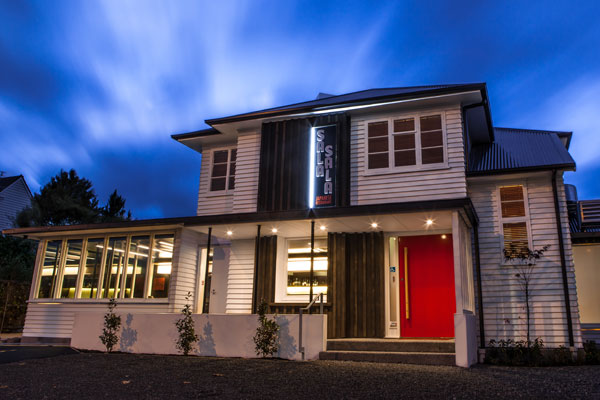A two-storey villa on Papanui Rd has been turned into a stunning new home for Sala Sala.
