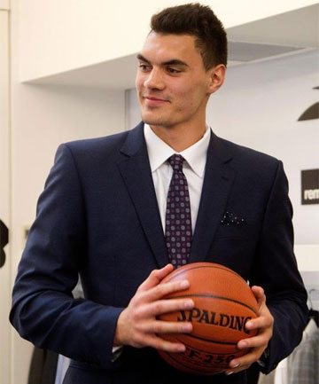 DRESSED FOR SUCCESS: Steven Adams will be one of select group of players in the 'green room' during the NBA draft.