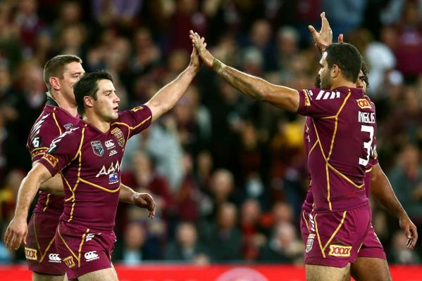 Cooper Cronk and Greg Inglis