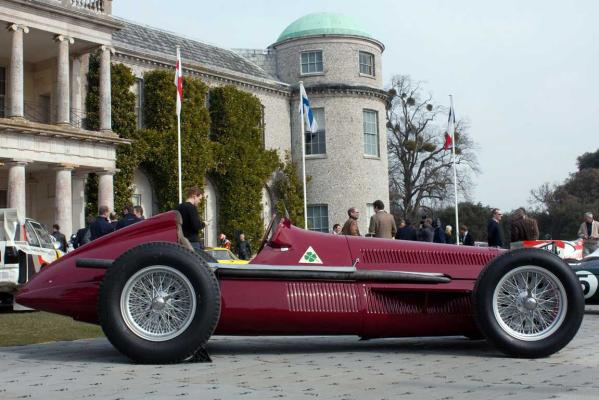 Alfa Romeo 159: Giuseppe 'Nino' Farina and Juan Manuel Fangio drove Alfettas – to victory in the first two Formula 1 World Championships.