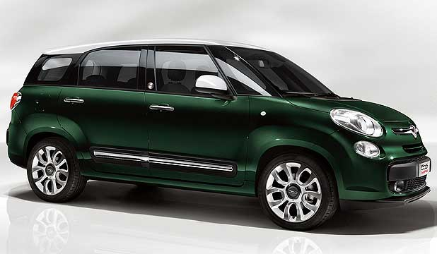 FIAT 500 MPW: It takes the already extended 500L and makes it into a genuine family car.
