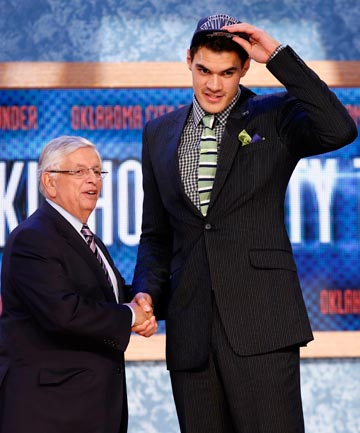 KIWI HISTORY: Steven Adams makes history after being drafted by NBA franchise Oklahoma City Thunder.