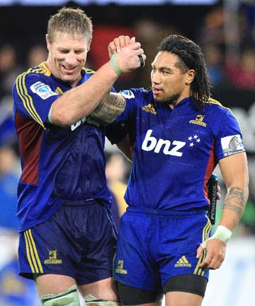 Brad Thorn and Ma'a Nonu