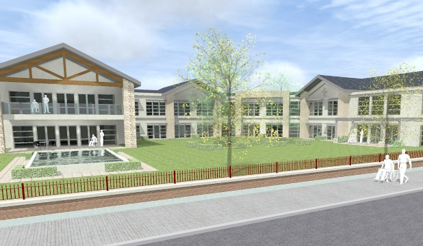 AMBITIOUS PLANS: An artist's impression of the new $70m Nazareth House aged care complex.