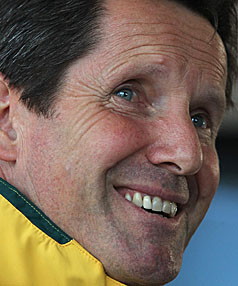 KNIFE EDGE: Wallabies coach and former Crusaders coach Robbie Deans could be on borrowed time.