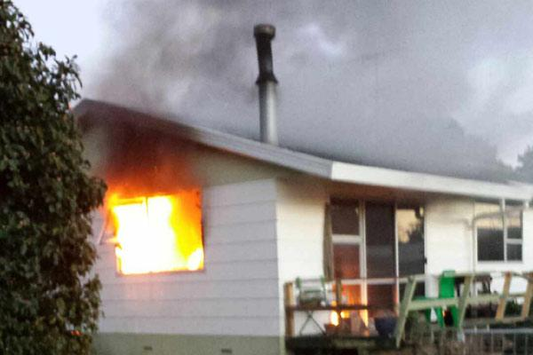 Nawton house fire