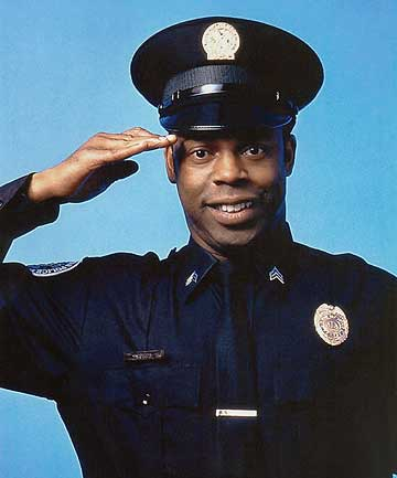 THE MAN WITH 10,000 VOICES: Michael Winslow of Police Academy fame.