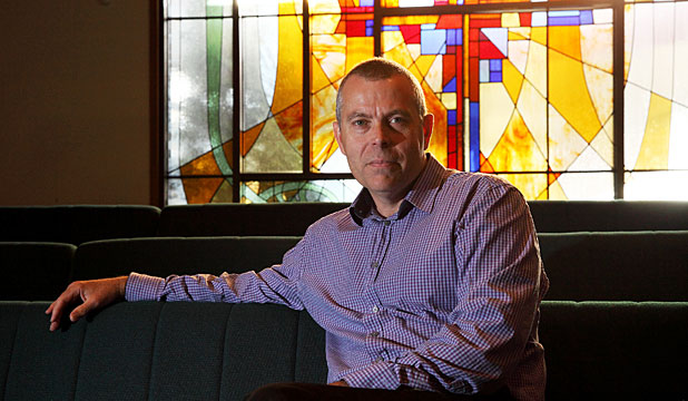 NEW CHAPTER: Digby Wilkinson has been named dean of Wellington's Anglican Cathedral of St Paul.
