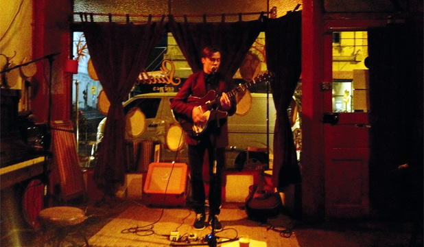 MAKING IT: Anthonie Tonnon writes on his experiences from a week playing gigs in Melbourne.
