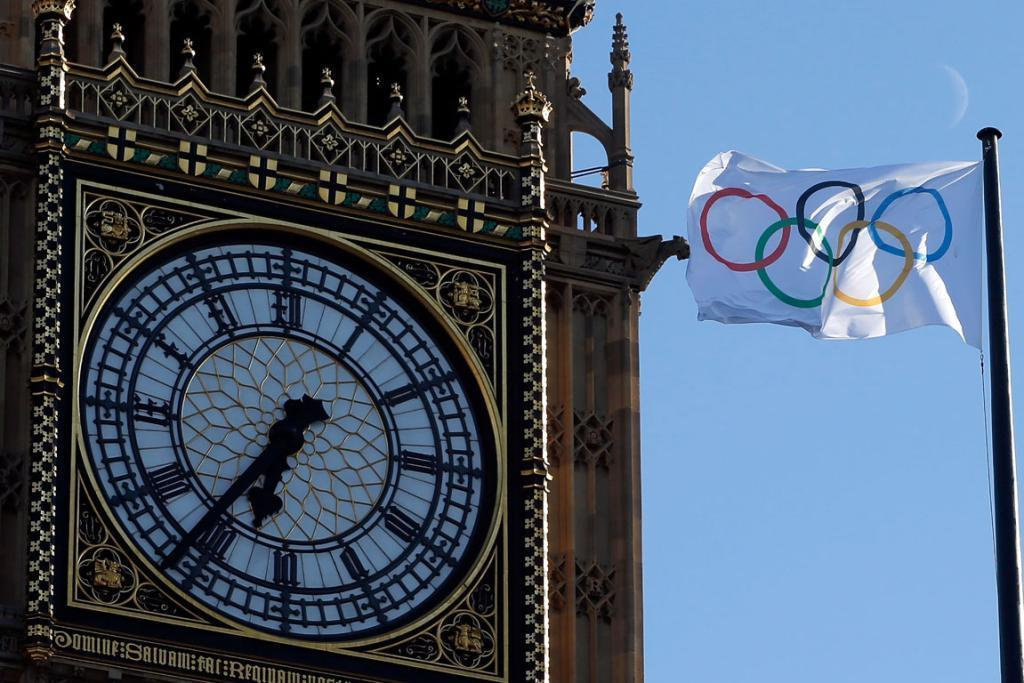 London gets ready for games