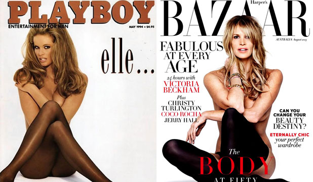 THE BODY: From men's mags to fashion glossies, Elle shares her body of work.