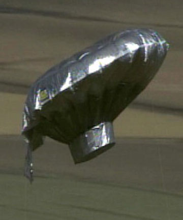 GLOBAL HEADLINES: The helium balloon that Richard Heene claimed took his boy, Falcon.