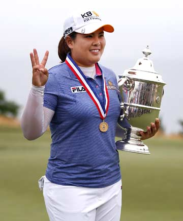 THREE DOWN, TWO TO GO: South Korean Inbee Park has won the first three women's majors of 2013, but still has two more to complete the 'grand slam'.