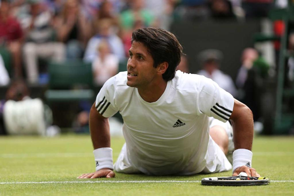 Fernando Verdasco won the first two sets but could not hold off Andy Murray.