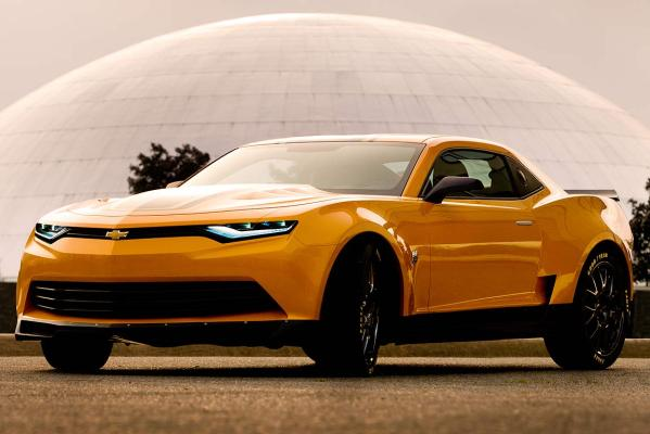 This 2014 concept Camaro is said to be the final jewel in the Transformers 4 crown.