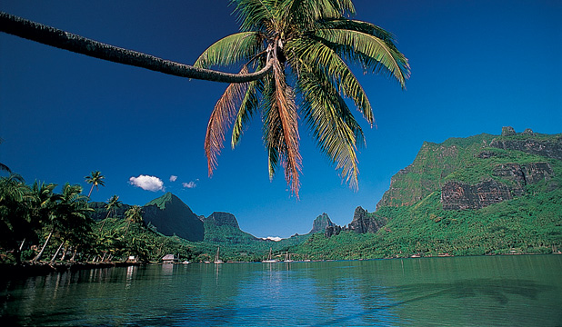 WAXING LYRICAL: Moorea is known as the Island of Love.