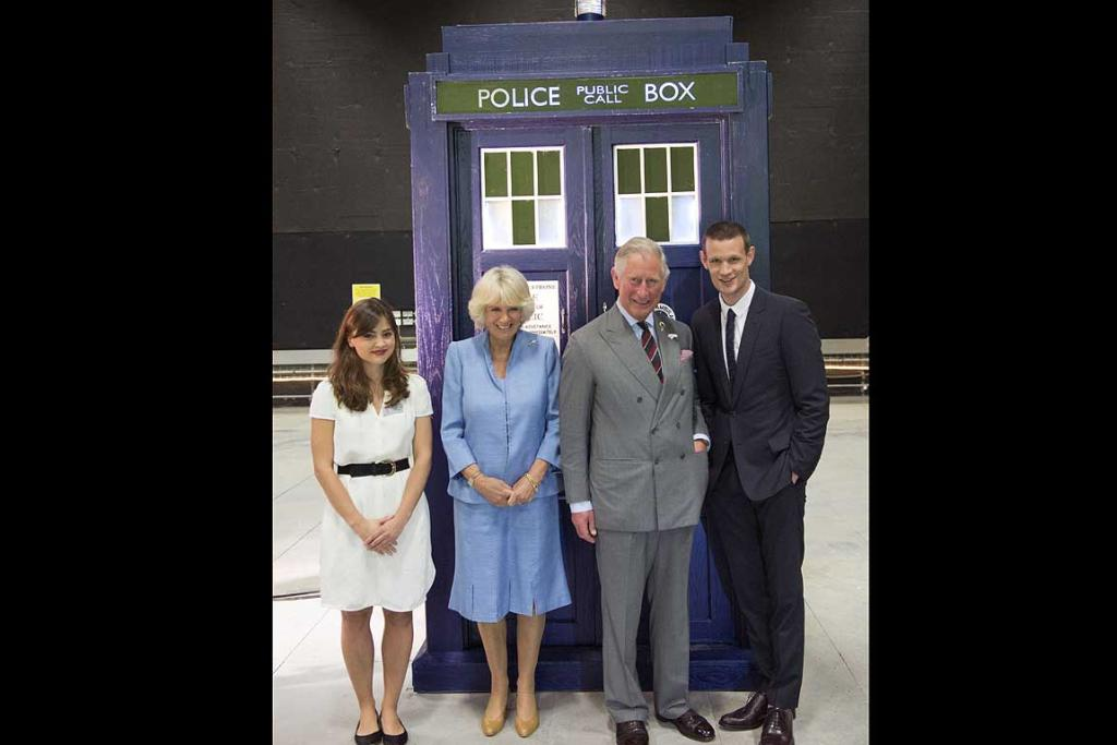 Prince Charles meets Dr Who