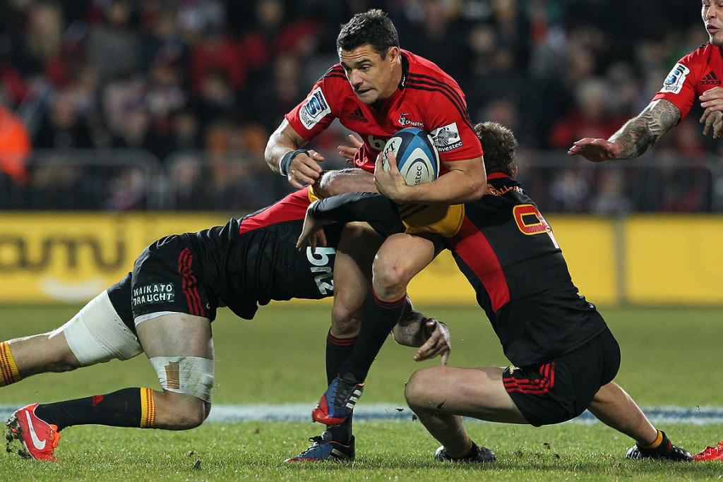 Crusaders first five-eighth Dan Carter.