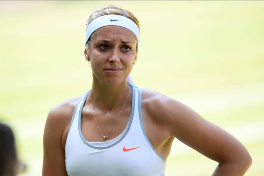 Sabine Lisicki had no answers for Marion Bartoli.