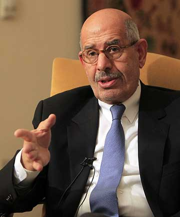 EGYPT'S NEW PM: Mohamed El-Baradei