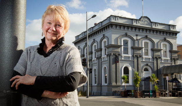 A day to remember: Margaret Evans will commemorate the 150th anniversary of the Waikato Wars at a breakfast in the city.