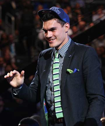 HOPEFUL: New Oklahoma City Thunder centre Steven Adams.