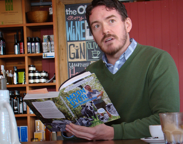 BEARDED BARD: Jared Gulian peppers Martinborough's harvest festival with readings from his fresh collection of stories.