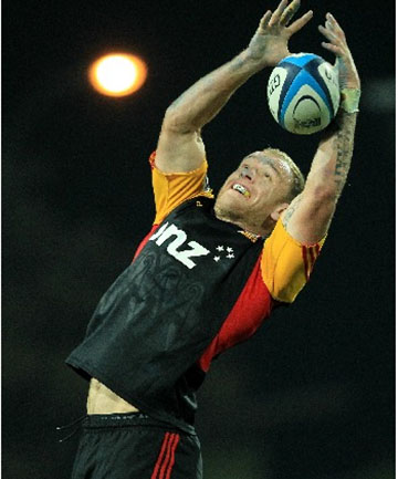 DELIVERING: An outstanding season with the Chiefs has seen Matt Vant Leven named Waikato captain.