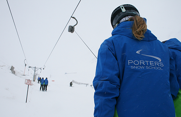 SEASON STARTS: Snow bunnies can finally enjoy Porters skifield, which opened today.