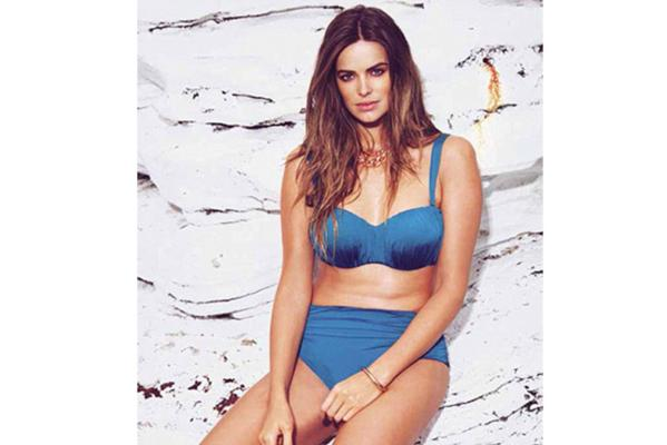 Robyn Lawley Bond-eye swimwear