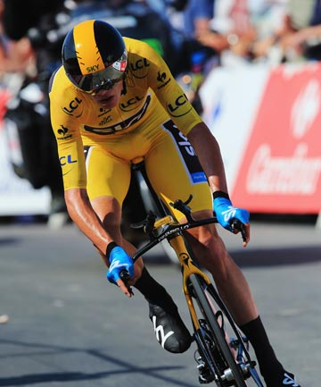 LEAD EXTENDED: Halfway through the Tour de France, Chris Froome appears unstoppable.