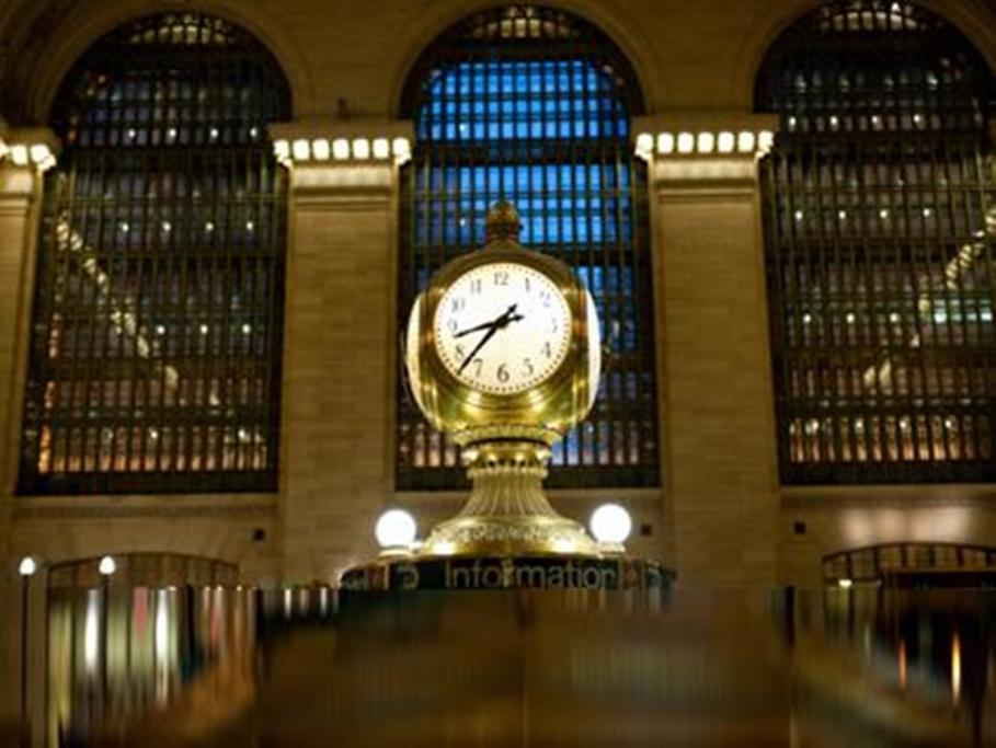 The symbol of New York and the most iconic meeting place in the city, Grand Central Station.