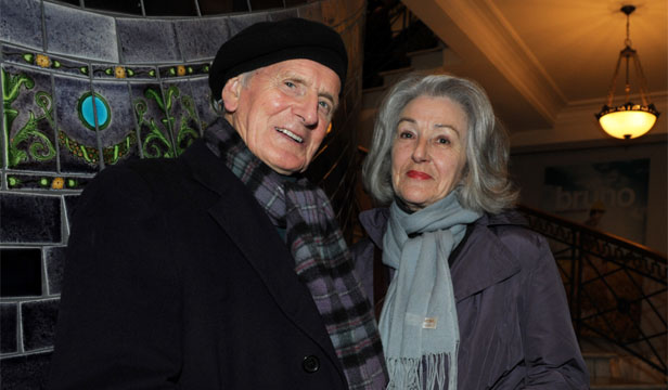 THEATRE STALWART: Richard Campion, who died on July 2, with wife Jude Campion in 2009.
