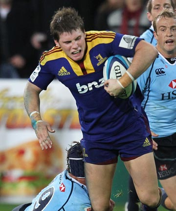 GOING HOME: Jamie Joseph is resigned to losing his playmaker Colin Slade to the Crusaders next season.