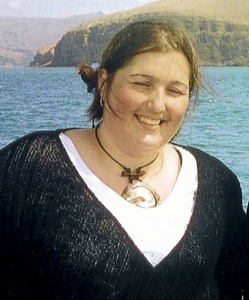 BEFORE: Kirsty Dunford before her dramatic weight loss.