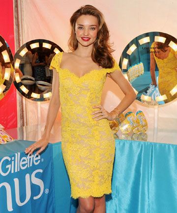 YUMMY MUMMY: We can't all be Miranda Kerr, the woman is the definition of a MILF.