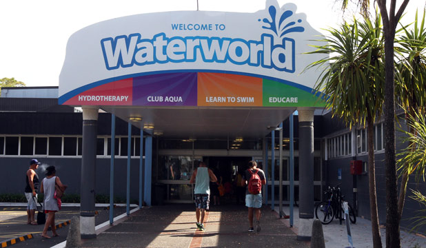 Waterworld closes for week for Gallagher swimming pool hamilton