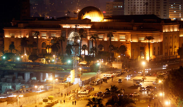 MORE MUMMIES: The Egyptian Museum, near Tahrir Square in Cairo.