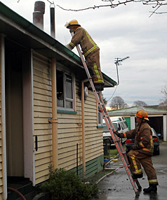 Upper Riccarton house fire