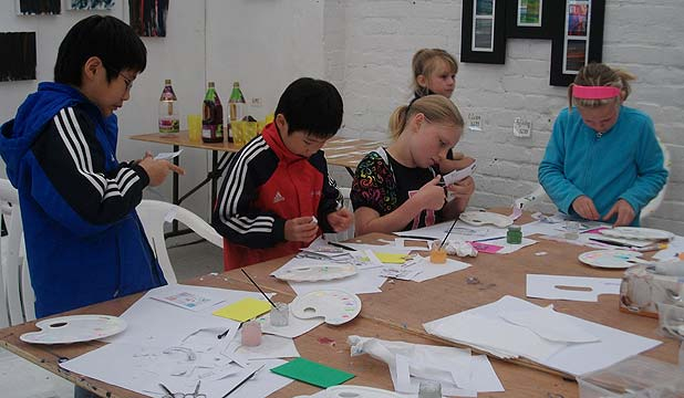 COOL TIMES: Children at a Helensville holiday programme will learn how to make different crafts.