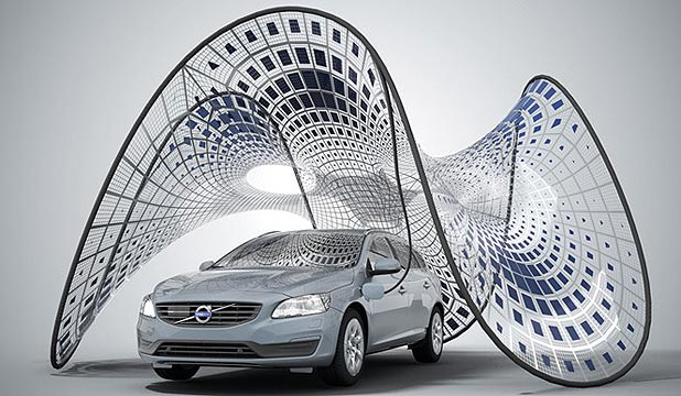 Volvo has revealed details of a portable