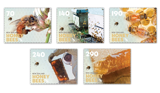 PRAISE BEE: Industrious insects get the stamp of approval.